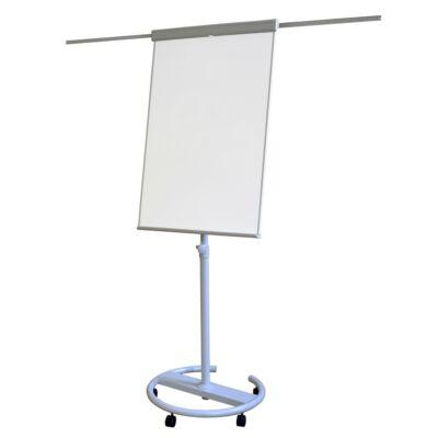 Flipchart tábla MEMOBOARDS mágneses felület 68x105cm 2 db segédkarral mobil állítható magasság