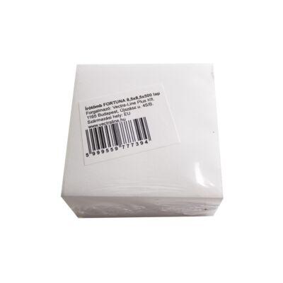 Írótömb fehér 8x8 cm 500 lap