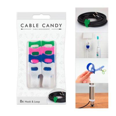 Kábelrendező CABLE CANDY tépőzáras