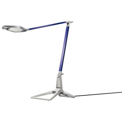 Asztali lámpa LEITZ Style Smart LED fém titánkék