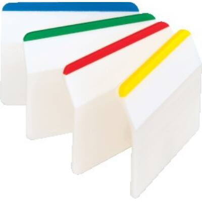 Oldaljelölő 3M Post-it 686A-1 normál műanyag színes