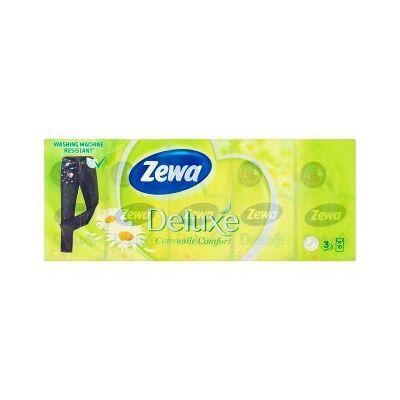 Papírzsebkendő Zewa 3 rétegű Camomila  10x10 db-os