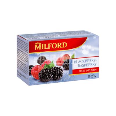 Gyümölcstea szeder-málna 20x2,5g MILFORD
