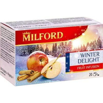 Gyümölcstea Téli örömök(alma-fahéj) 20x2,5g MILFORD