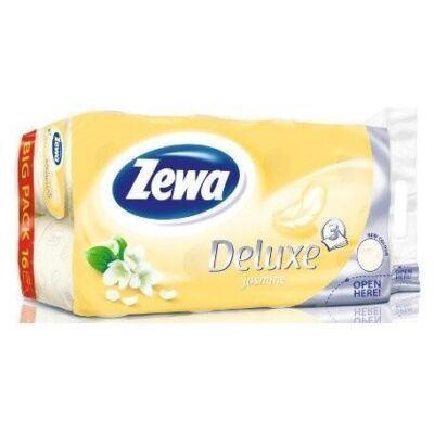 Toalettpapír Zewa Deluxe 3 rétegű 16 tekercses Jasmine