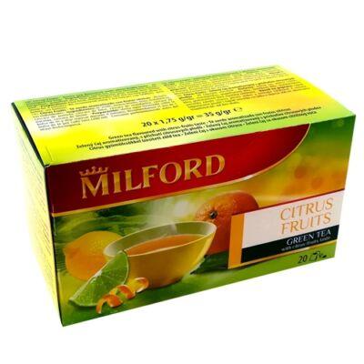 Zöld tea citrusokkal 20x1,75g MILFORD